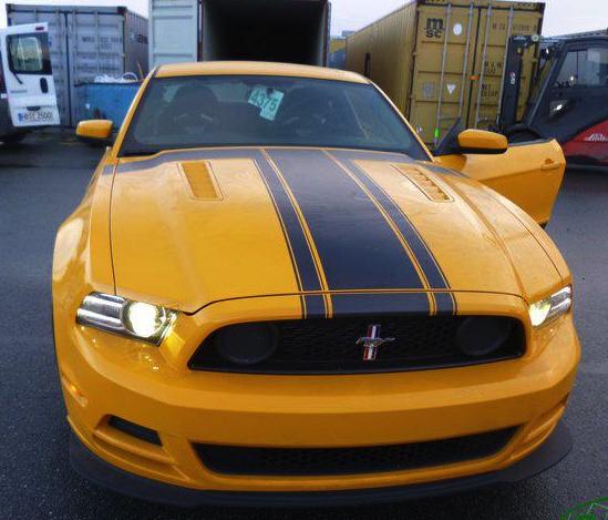 Lieferung amerikanische auto